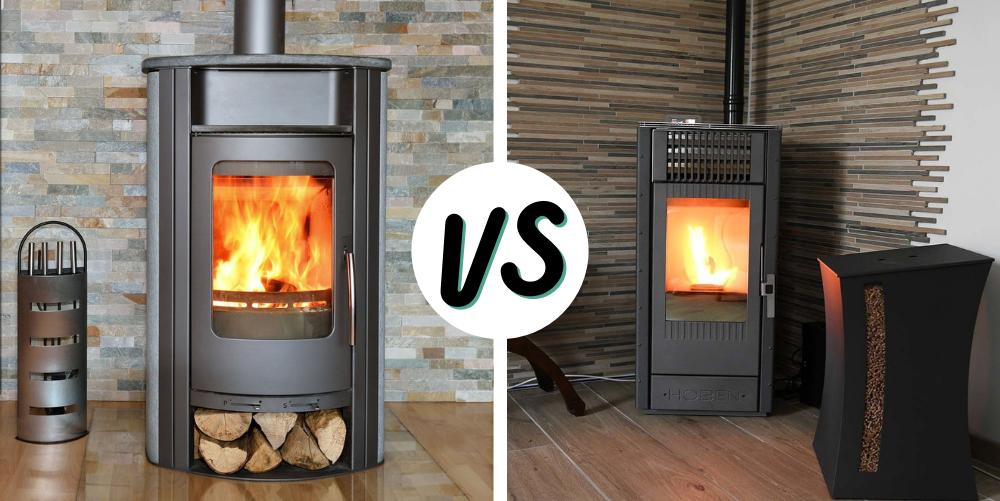 Comparaison entre un poêle à bois et un poêle à granulés : Lequel choisir ?